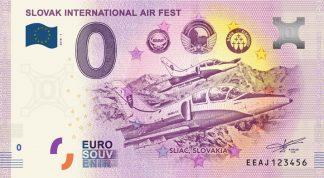 0 Euro Souvenir bankovka - SLOVAK INTERNATIONAL AIR FEST - SIAF 2018-1