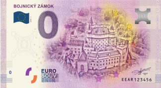 0 Euro Souvenir bankovka - BOJNICKÝ ZÁMOK 2018-1