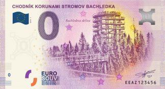 0 Euro Souvenir bankovka - Chodník korunami stromov Bachledka - 2018-1