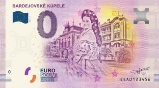 0 Euro Souvenir bankovka - Bardejovské kúpele 2018-1