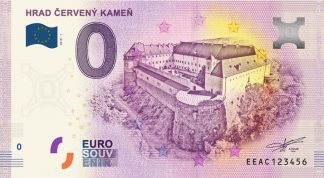 0 Euro Souvenir bankovka - Hrad Červený Kameň 2018-1