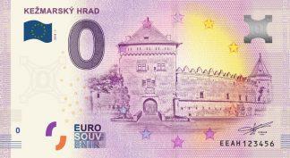 0 Euro Souvenir bankovka - KEŽMARSKÝ HRAD 2018-1