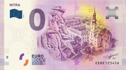 0 Euro Souvenir bankovka - Nitra 2018-1