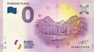 0 Euro Souvenir bankovka - Štrbské pleso 2018-1