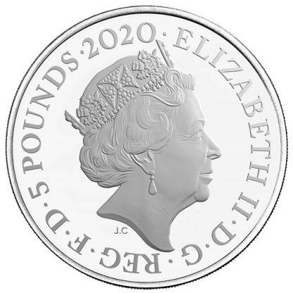 BOND, JAMES BOND UK £5 BU - averz