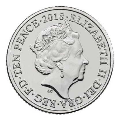 WORLD WIDE WEB 2018 UK 10p UNC - averz