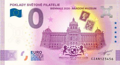0 Euro Souvenir bankovka - Poklady světové filatelie 2020-1