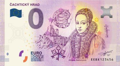 0 Euro Souvenir bankovka - Čachtický hrad 2019-1
