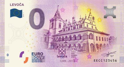 0 Euro Souvenir bankovka - Levoča 2019-1
