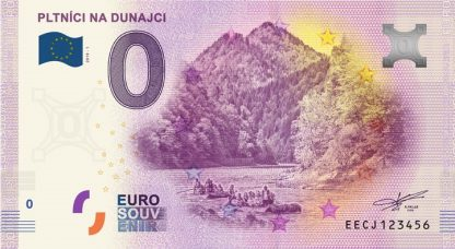0 Euro Souvenir bankovka - Pltníci na Dunajci 2019-1