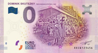 0 Euro Souvenir bankovka - Dominik Skutezky 2020-1
