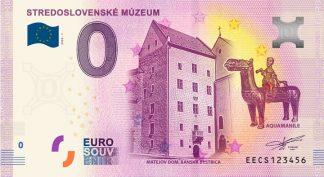 0 Euro Souvenir bankovka - Stredoslovenské múzeum 2020-1