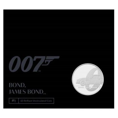 BOND, JAMES BOND UK £5 BU