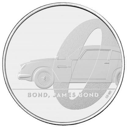 BOND, JAMES BOND UK £5 BU - reverz