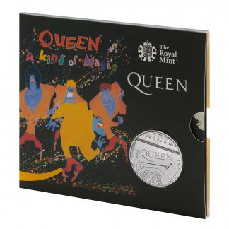 QUEEN 2020 £5 BU – A KIND OF MAGIC