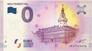 0 Euro Souvenir bankovka - WOLFENBÜTTEL 2018-1