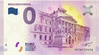 0 Euro Souvenir bankovka - BRAUNSCHWEIG 2018-1