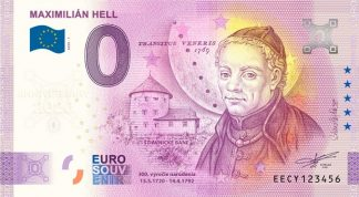 0 Euro Souvenir bankovka - MAXIMILIÁN HELL 2020-1 - ANNIVERSARY 2020