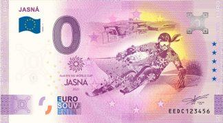 0 Euro Souvenir bankovka - JASNÁ 2020-1