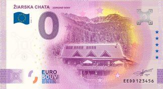 0 Euro Souvenir bankovka - ŽIARSKA CHATA 2020-1
