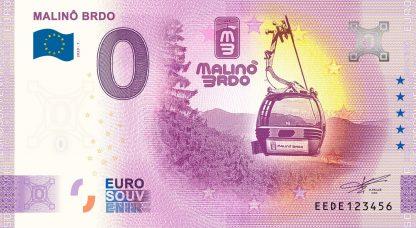 0 Euro Souvenir - MALINÔ BRDO 2020-1