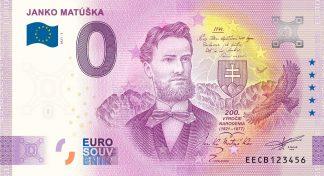 0 Euro Souvenir - JANKO MATÚŠKA 2021-3