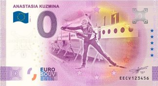 0 Euro Souvenir - ANASTASIA KUZMINA 2020-1 - ANNIVERSARY 2020