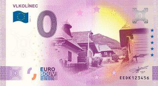 0 Euro Souvenir - VLKOLÍNEC 2021-1