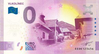 0 Euro Souvenir - VLKOLÍNEC 2021-1 - ANNIVERSARY 2020