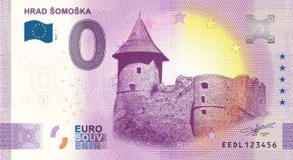 0 Euro Souvenir - HRAD ŠOMOŠKA 2021-1