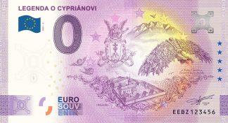 0 Euro Souvenir - LEGENDA O CYPRIÁNOVI 2021-2