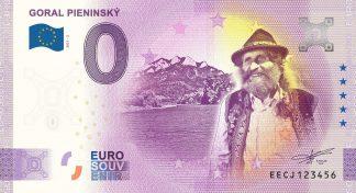0 Euro Souvenir - GORAL PIENINSKÝ 2021-2