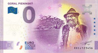 0 Euro Souvenir - GORAL PIENINSKÝ 2021-2 - ANNIVERSARY 2020