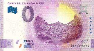 0 Euro Souvenir - CHATA PRI ZELENOM PLESE 2021-2
