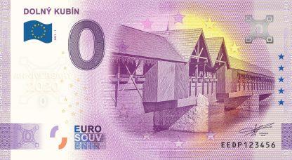 0 Euro Souvenir - DOLNÝ KUBÍN 2021-1 - ANNIVERSARY 2020