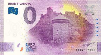 0 Euro Souvenir - HRAD FIĽAKOVO 2021-1