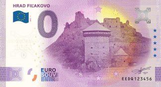 0 Euro Souvenir - HRAD FIĽAKOVO 2021-1 - ANNIVERSARY 2020