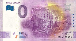 0 Euro Souvenir - HRAD LIKAVA 2021-3