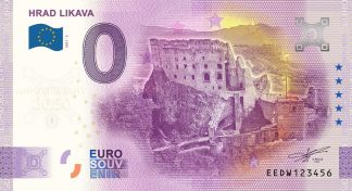 0 Euro Souvenir - HRAD LIKAVA 2021-3 - ANNIVERSARY 2020