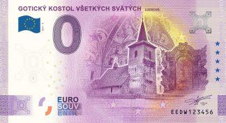 0 Euro Souvenir - GOTICKÝ KOSTOL VŠETKÝCH SVÄTÝCH - LUDROVÁ 2021-4