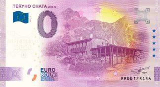 0 Euro Souvenir - TÉRYHO CHATA 2021-5 - ANNIVERSARY 2020